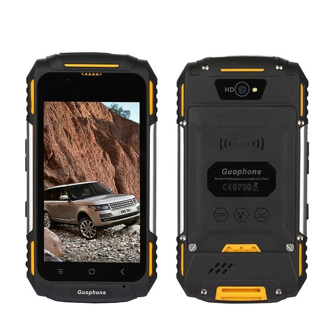 pretty nice 9e3b1 250b3 US $72.16 18% OFF|Guophone Outdoor Waterproof Dual Sim Smart Phone 4.0