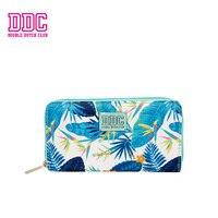 DDC Women Wallet Female Long Purse Wallet Female Famous Brand Designer Card Holders Travel Zipper Women