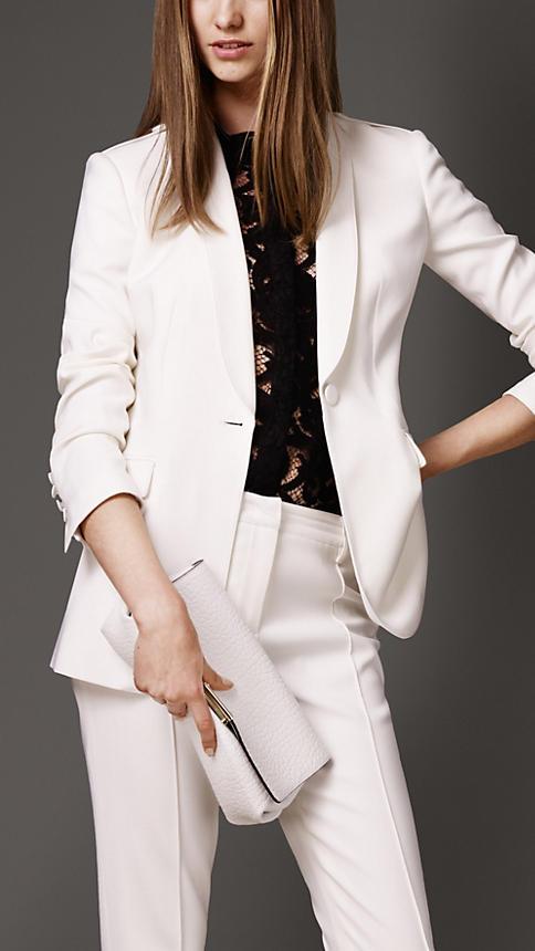 2015 Autunno Inverno Custom Made Bianco Nuovo Business Professional Work Indossare Pantaloni Abiti Per Signore Dell'ufficio Reputazione In Primo Luogo