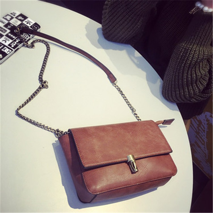 2015 New Fashion Women Bag Leahter Handbags Small Messenger Bolsa Feminina Crossbody Shoulder Bags  Bolsos Famous Brands Lady 7