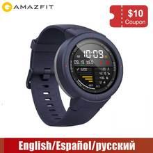 Xiaomi Huami Amazfit Verge Спорт Смарт часы 3 gps водостойкий Bluetooth воспроизведения музыки вызова Ответ сообщение Push сердечного ритма мониторы