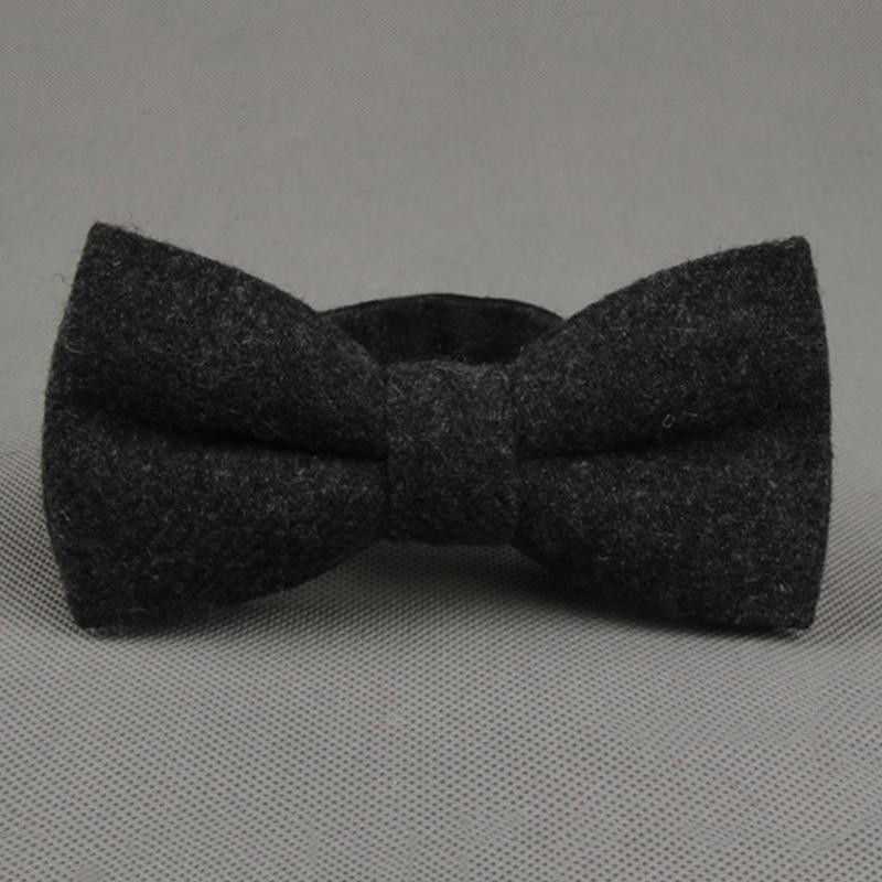 Mantieqingway 2017 Mode Wolle Einfarbig Bowties Männer Einstellbare Formale Hochzeit Gravatas Dünne Vestidos Krawatte Für Männer Neueste Technik