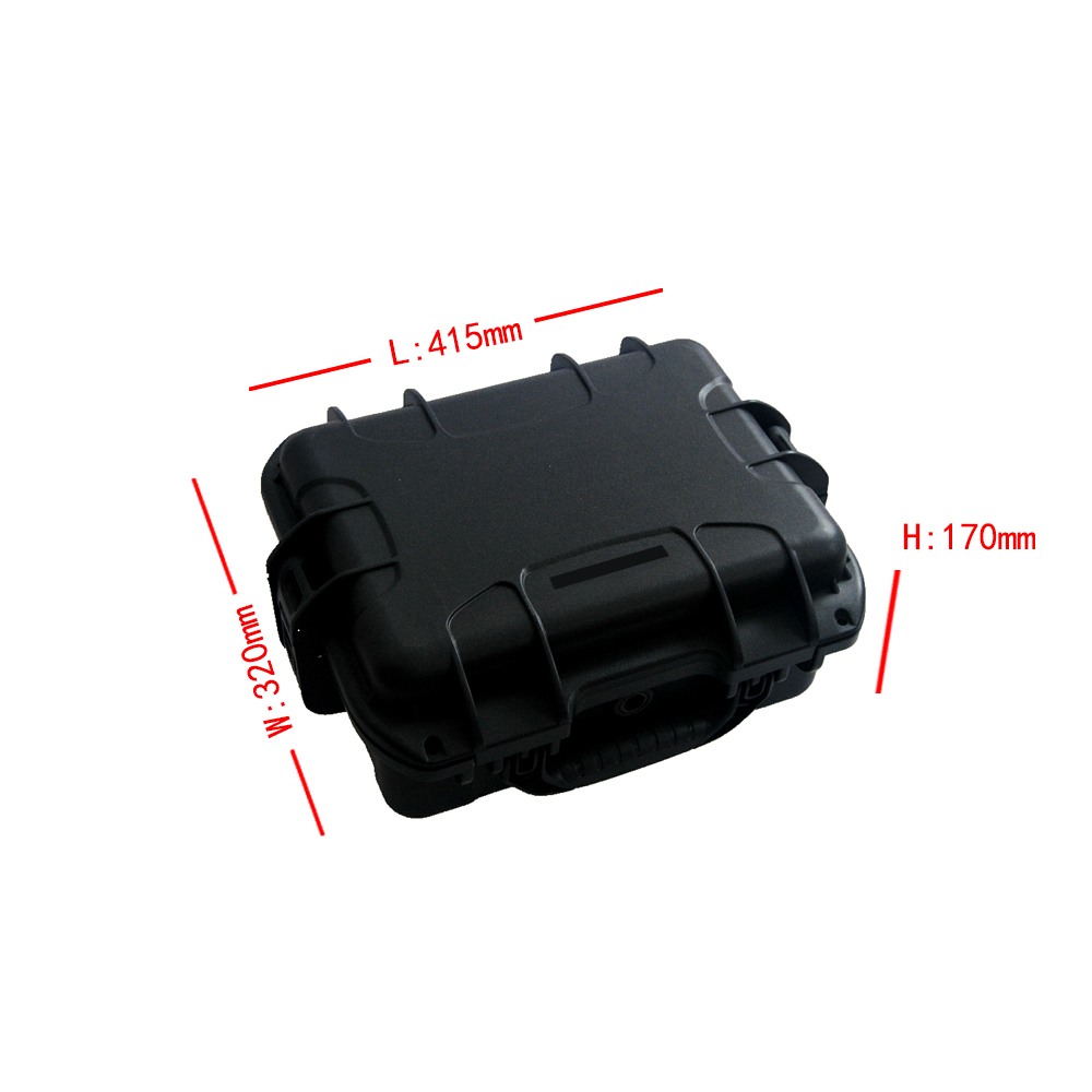 SQ3210 waterproof shockproof modified PP material portable hardware case without foam цена