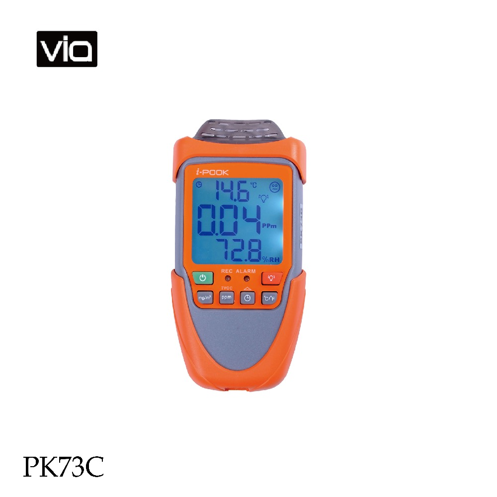 PK73A Direct Factory Formaldehyde Monitors High Accuracy Unit (mg / ppm) Selectable With Display Backlight Nice Shape
