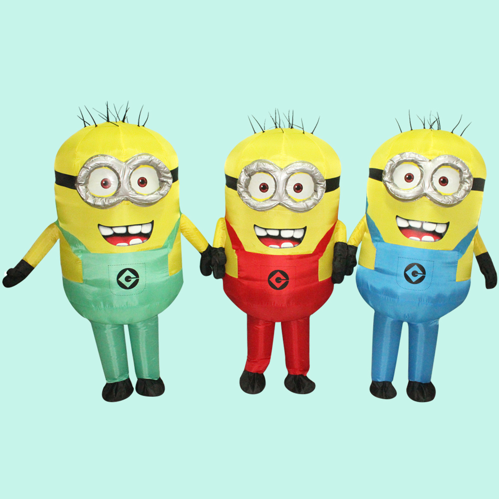 cosplay costumes Purim Carnival Parade Costumes Minions Inflatable Adult Fancy Dress Costume Halloween costume