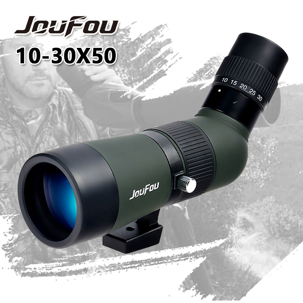 JouFou 10-30X50 Hunting Birdwatching telescope Waterproof Spotting Scope Zoom Monocular Wide-angle Design Telescope With Tripod mehdi mohammadi poorangi piao hui ying and arash najmaei e hrm strategies for recruitment