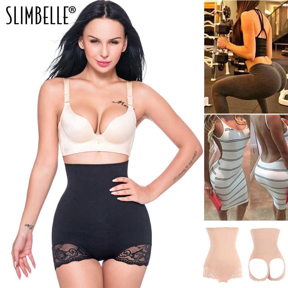 84ee4945fc7f0 Hot Women Seamless High Waist Trainer Pants Butt Lifter Body Shaper Tummy  Control Panties Enhancer Underwear
