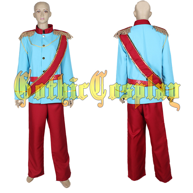 adult carnival costume cinderella party costume prince charming prince cosplay costume halloween costumes suit party - Prince Charming Halloween Costumes