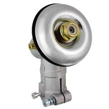 Boîte de vitesses 26mm de diamètre, débroussailleuse, débroussailleuse, remplacement de la tête de vitesse Tête de tondeuse à gazon, tige carrée, engrenage universel, pièce de rechange