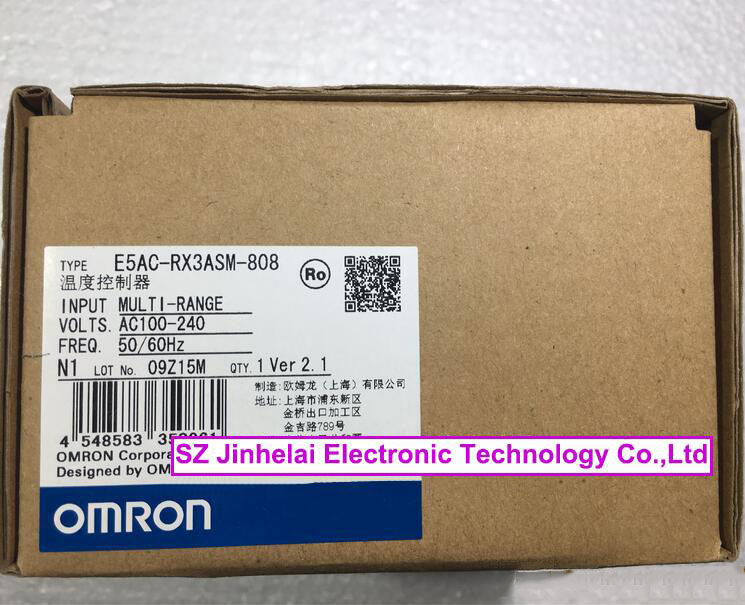 E5AC-RX3ASM-808, E5AC-QX3ASM-808 New and original OMRON Digital temperature controller e5ec cr2asm 804 new and original omron temperature controller