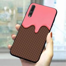 Chocolate Bar Soft TPU Cover for Huawei Honor 7X Phone Case for 7C 8 Lite 9 10 Note Y6 Y7 Prime 2018 Y9 Nova 3 3i 4 6A 7A Skin(China)