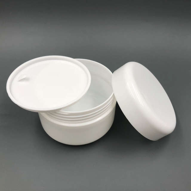 b3e8067e30ee 30PCS 100ml 100g PP Plastic White Cosmetic Cream Jar with Lids, Cosmetic  Powder Container Cream Bottle Package(5 colors )