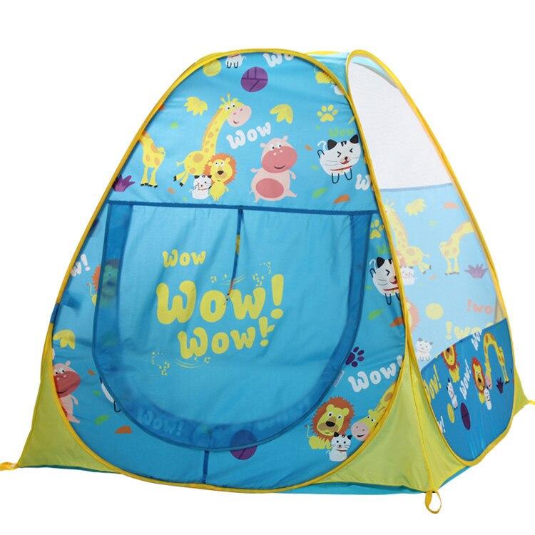 Portable Pink Children Kids Play Tents Outdoor Garden