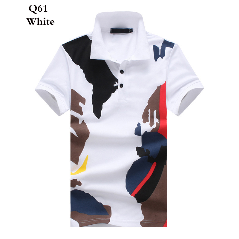 High Quality Short sleeve   Polo   shirt men jersey casual boys   polo   New spell color breathable Male 2019 Summer Men cool   polo