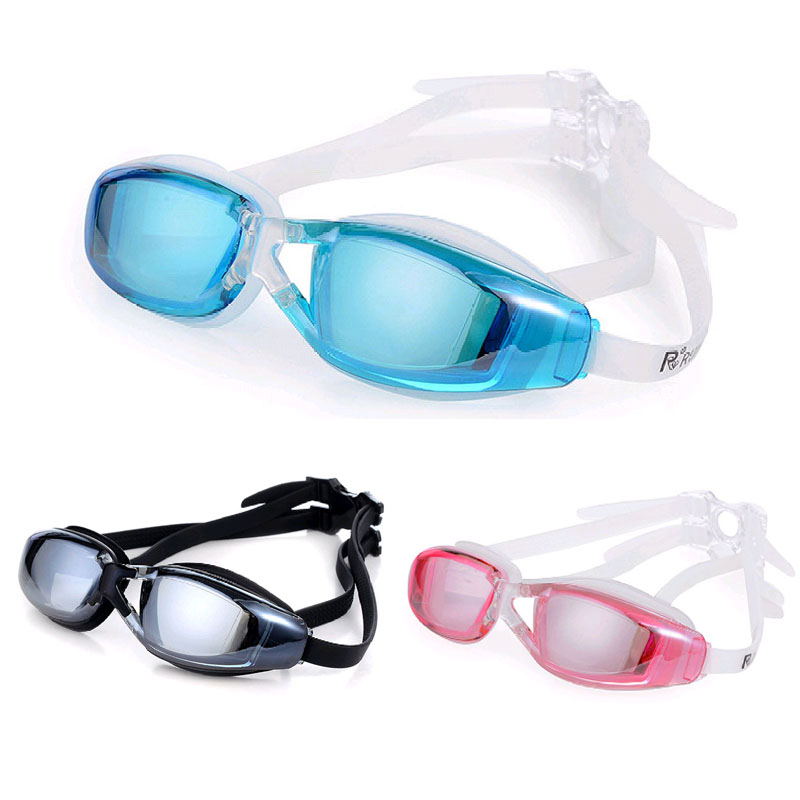 New sale Swimming goggles men Anti-Fog professional Adult silicone Waterproof goggles arena swim eyewear Sea Swimming glasses