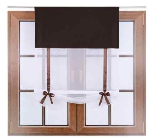 ستائر شفافة من التول الأبيض النقي المتطاير للمطبخ ستائر شفافة لمعالجات نوافذ الشرفة خيوط شفافة من الفوال للمطبخ