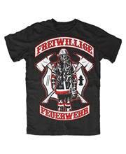 Feuerwehr Premium T-Shirt Freiwillige,FFW,Helden,Einsatz,Kult,Rettung, rettungs 2018 Kurzarm Baumwolle T Shirts Mann Kleidung