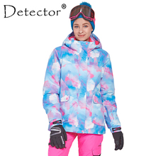 Detector Women's Ski Snowboard Jacket Outdoor Winter Ski Clothing Women Waterproof Windproof Coat Warm Clothes цена 2017