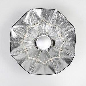 Image 5 - ファルコンアイズ折りたたみ美容皿ソフトボックス 70 センチメートル 85 センチメートル 100 センチメートルレーダーレドームと Bowens のためのストロボフラッシュライト