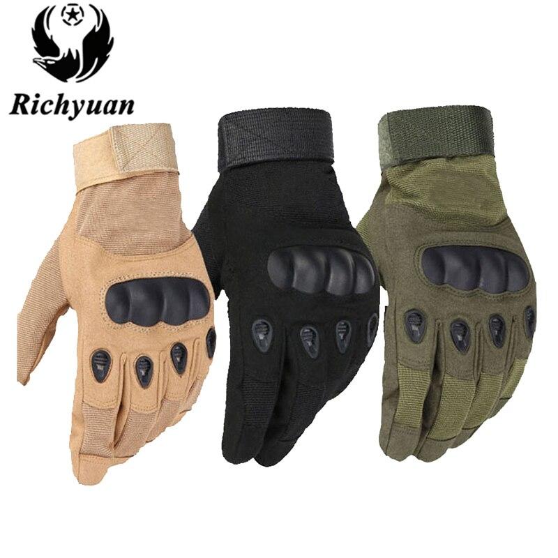 Uns Militärische Taktische Handschuhe Outdoor Sports Armee Voller Finger Kampf-taktische Handschuhe rutschfeste Carbon Schildkröte Handschuhe