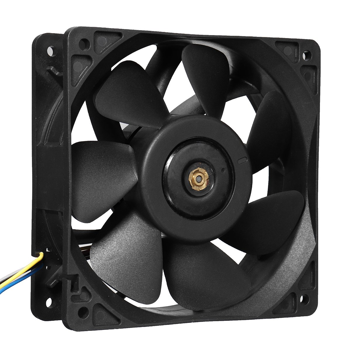 Cooling Fan 12V 2.7A 6000RPM Cooling Fan Replacement 4 Wire ...