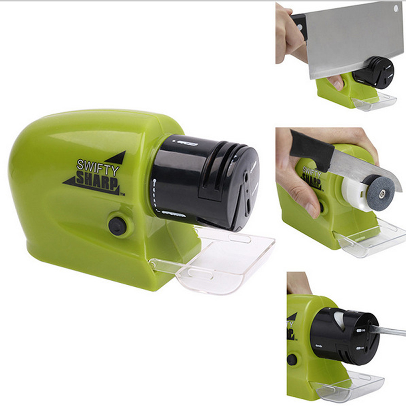 Electric knife sharpener Professional Knife Sharpener Diamond Tungsten Steel Carbide Rotate Knife Sharpening Kitchen Too 5