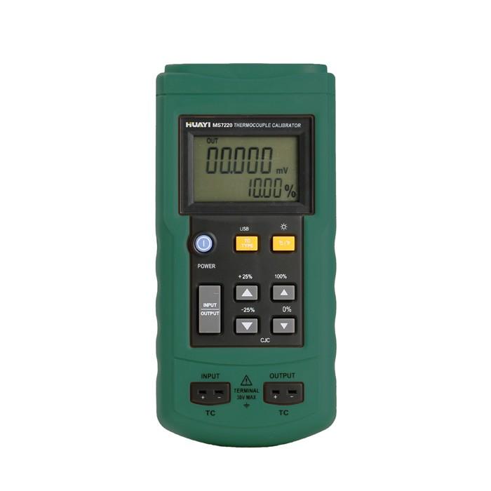 MASTECH MS7220 THERMOCOUPLE CALIBRATOR Meter Tester