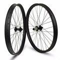 Карбоновые колеса 26er XC/AM/Enduro/DH MTB  бескамерные диски шириной 24/35/40 мм для горного велосипеда 26 дюймов