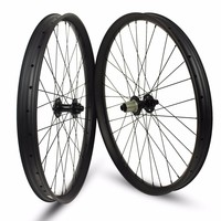 26er XC AM Enduro DH MTB Carbon Wheels Tubeless Rims 24 35 40mm Width For 26