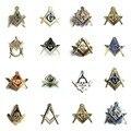 Masonic Lapel Pin Freemasonry Square and Compass Mason Lapel Pin Badge with Butterfly Clutch Symbol Gift for Freemason