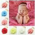 """""""13 CM"""" Jumbo Grande Da Flor Da peônia Headbands Bebê Bebê Criança Meninas Headband arcos de cabelo"""