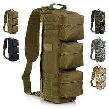 Tactical military MOLLE Hiking Hunting Camping One Shoulder Bag men Outdoor travel Assault Pack 600 1000D