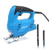 KKmoon Multifunctional Electric Saws Woodworking Home Manual Jig Saw Motor Tool serra circular with 2pcs Saw Blades 220V 710W