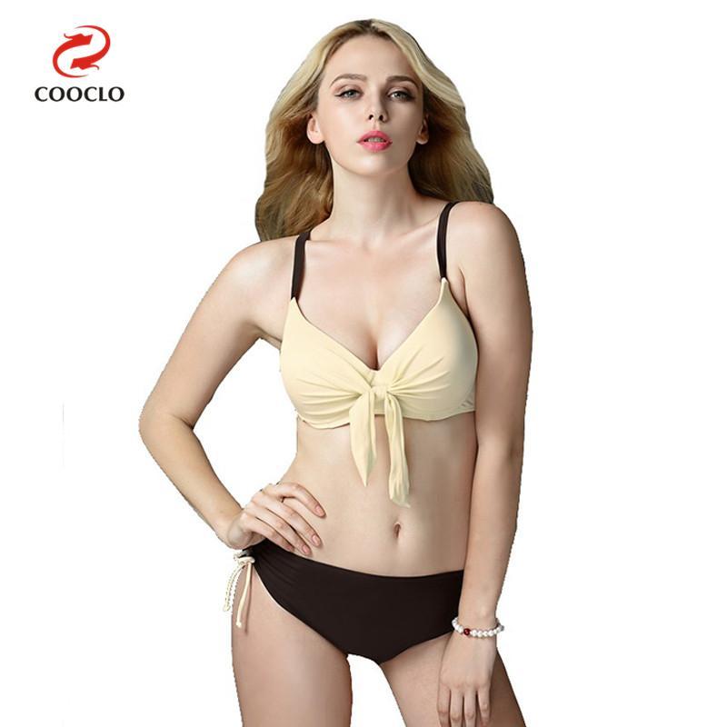 COOCLO 2018 Hot New Plus Size Bikinis Sexy Women Swimwear Large Size Beach Swim Wear Bathing Suits Push up Vintage Biquinis 5XL