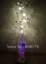 F019-- New Arrival Free Shipping Contemporary Floor Lamp Halogen(China)