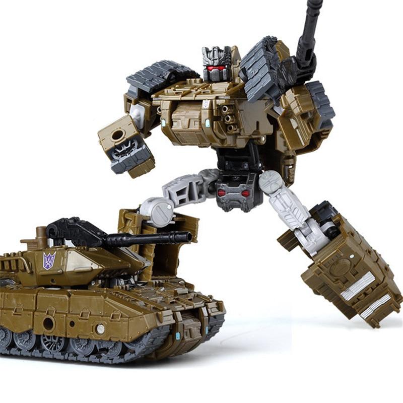 Haizhixing крутой робот-трансформер, игрушки для мальчиков, аниме, разрушитель, самолет, танк, инженерная военная модель KO GT2, детская игрушка