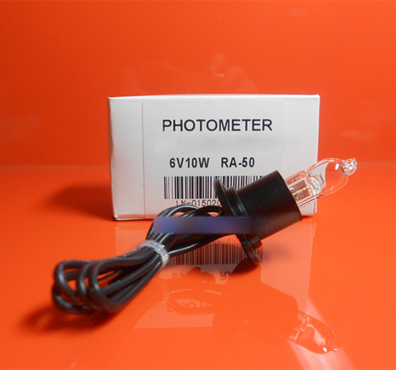 Bayer RA50 analyseur de chimie lampe halogène 6 V 10 W Semi automatique Biochemistrey RA50 6V10W ampoule, fil de support tubulaire