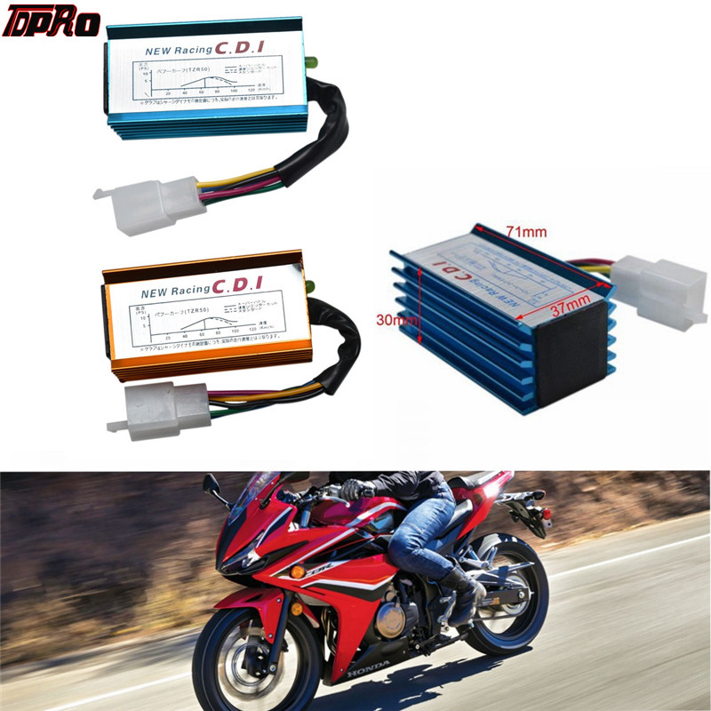 5 CDI Box CDI AC Fired Racing per moto 50cc 70cc 90cc 110cc dirt bike scooter e ATV CDI Box 5 Pin