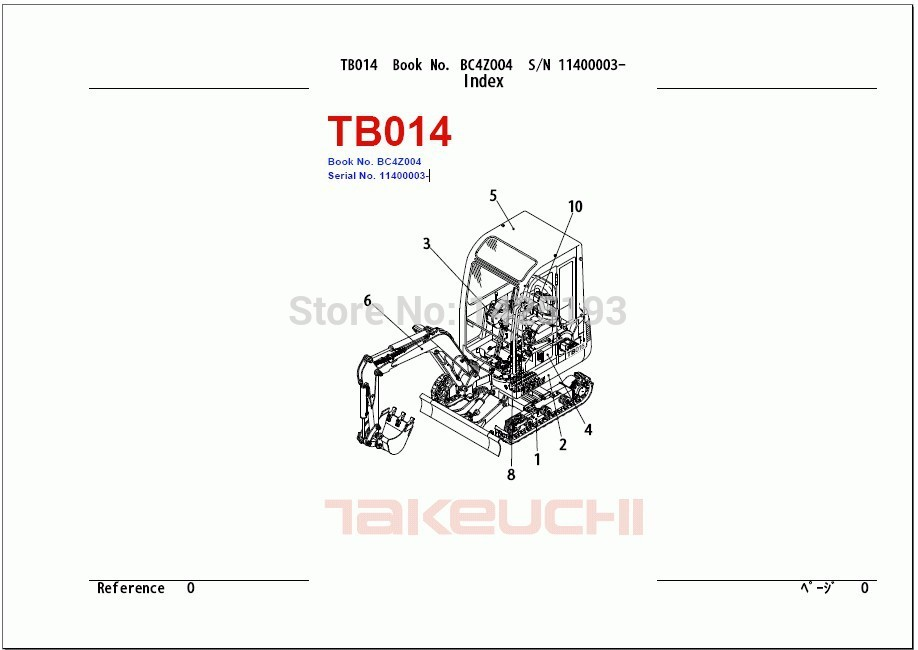 Takeuchi Tl130 Wiring Schematic : 31 Wiring Diagram Images