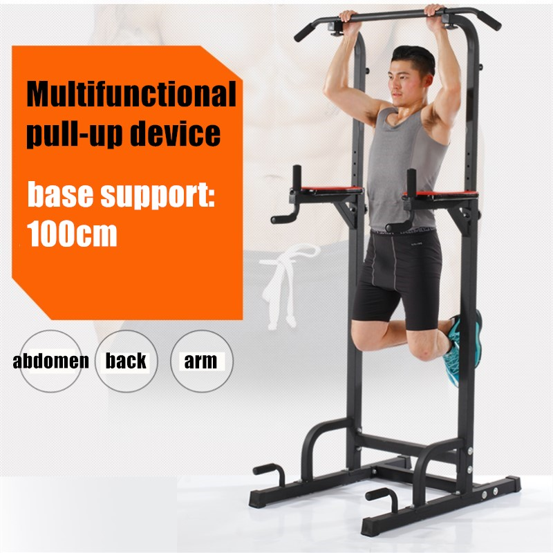 Stable indoor comprehensive fitness body buliding arm back waist Single parallel bars image