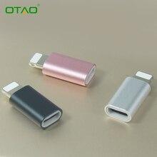 Портативный Данные Micro Usb Адаптер Зарядки Android Женский до 8 контактный разъем чтобы кабель micro usb Разъем Для iPhone 5 6 7 for ipad 2 ШТ.