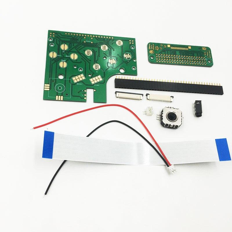 Für Game Boy Null (DMG-01) 6 Tasten PCB Board & Schalter & Connector Kit Für Raspberry Pi GBZ