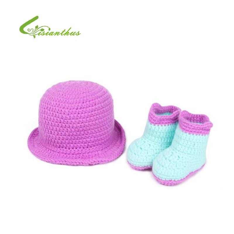 Lisianthus Little Girls Candy Color Woolen Berret
