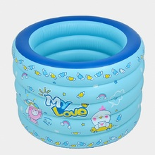 2019 Summer New Style Printed Inflatable Childrens Height Thickening Swimmin pool Outdoor  Home Use Protable