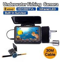 Eyoyo F06 30MDVR 30m 4 3 1000TVL Underwater Fishing Camera Fish Finder DVR Recorder Night Vision