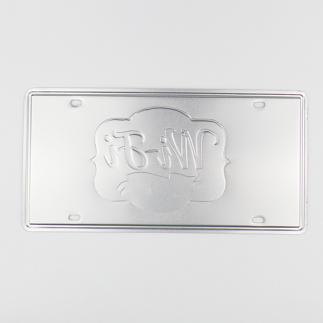 Vintage Metal Signs Plate 8