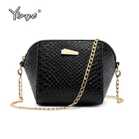 YBYT Brand New Women Alligator Candy Colors Shell Bag Female Mini Shopping Coin Package Ladies Shoulder