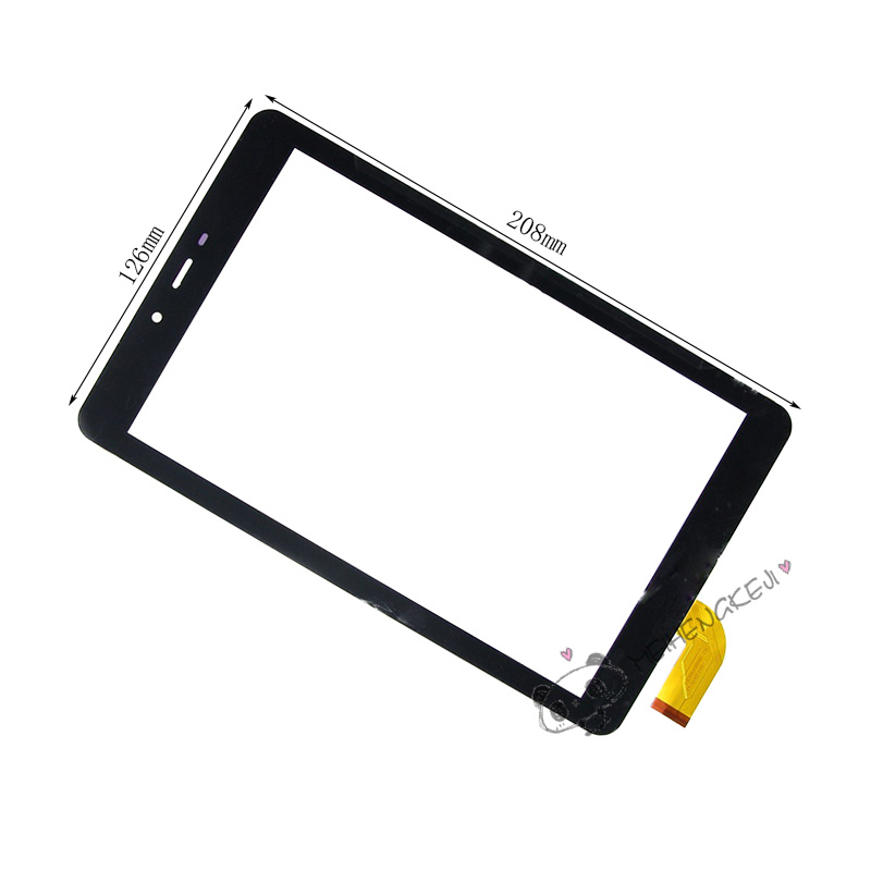 New 8 inch Touch Screen Digitizer Glass For BQ 8055G tablet PC Free shipping new 7 inch touch screen digitizer for for acer iconia tab a110 tablet pc free shipping