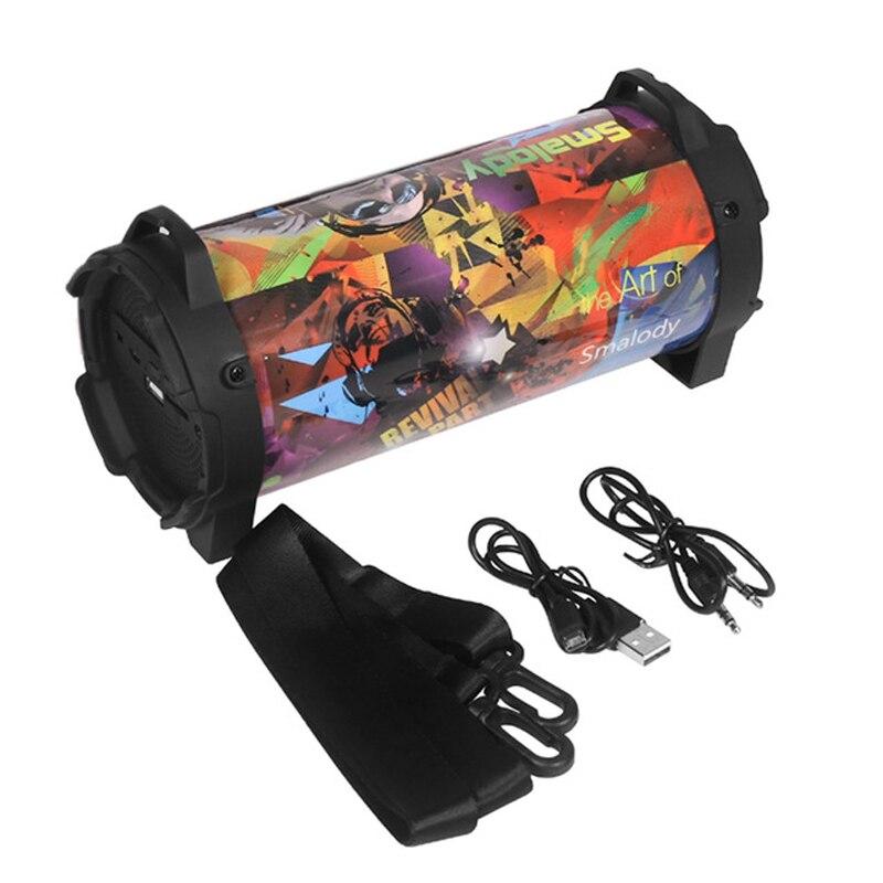 10W Portable Column Wireless Bluetooth Speaker Bass Stereo Sound System Boom Box Subwoofer With FM Radio AUX Mic Handsfree