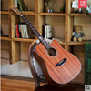 Andrew Andrew 40 Inch 41 Inch Veneer Folk Guitar Noodles Single Fingerboard Carved Male And Female